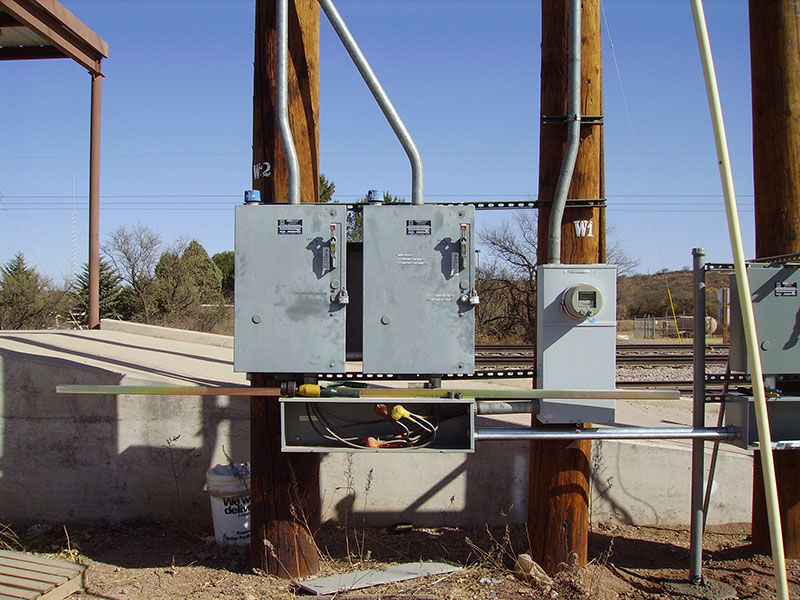 Electrical Pole Install - Gilbert Electric Co. Inc. Tucson