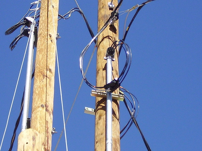 Electical Pole Install - Gilbert Electric Co. Inc. Tucson